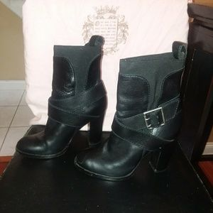 Juicy couture mid calf boot